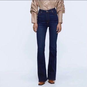Zara Premium Denim Collection The High Waist Jeans